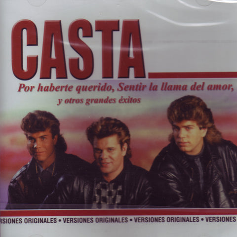 Image of Casta, Coleccion Grandes, CD