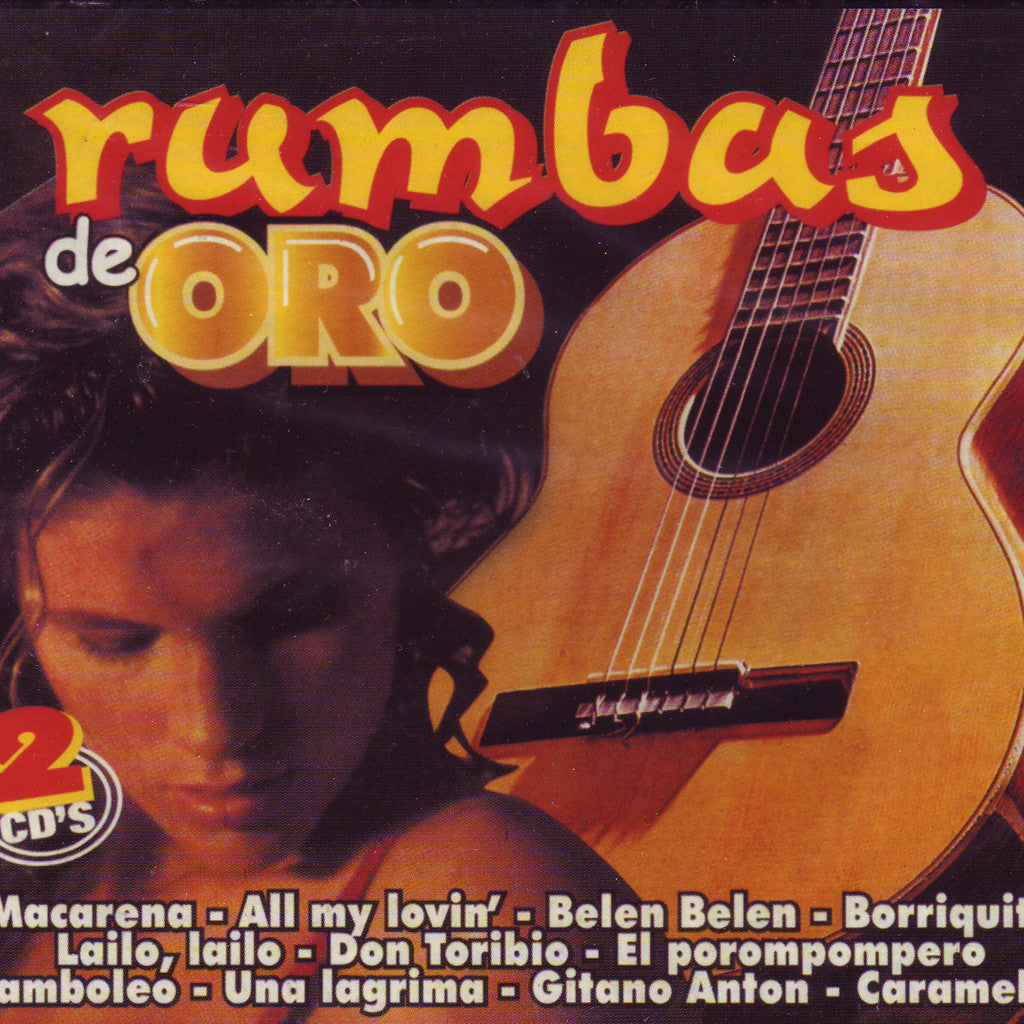 Image of Various Artists, Rumbas de Oro, 2 CDs