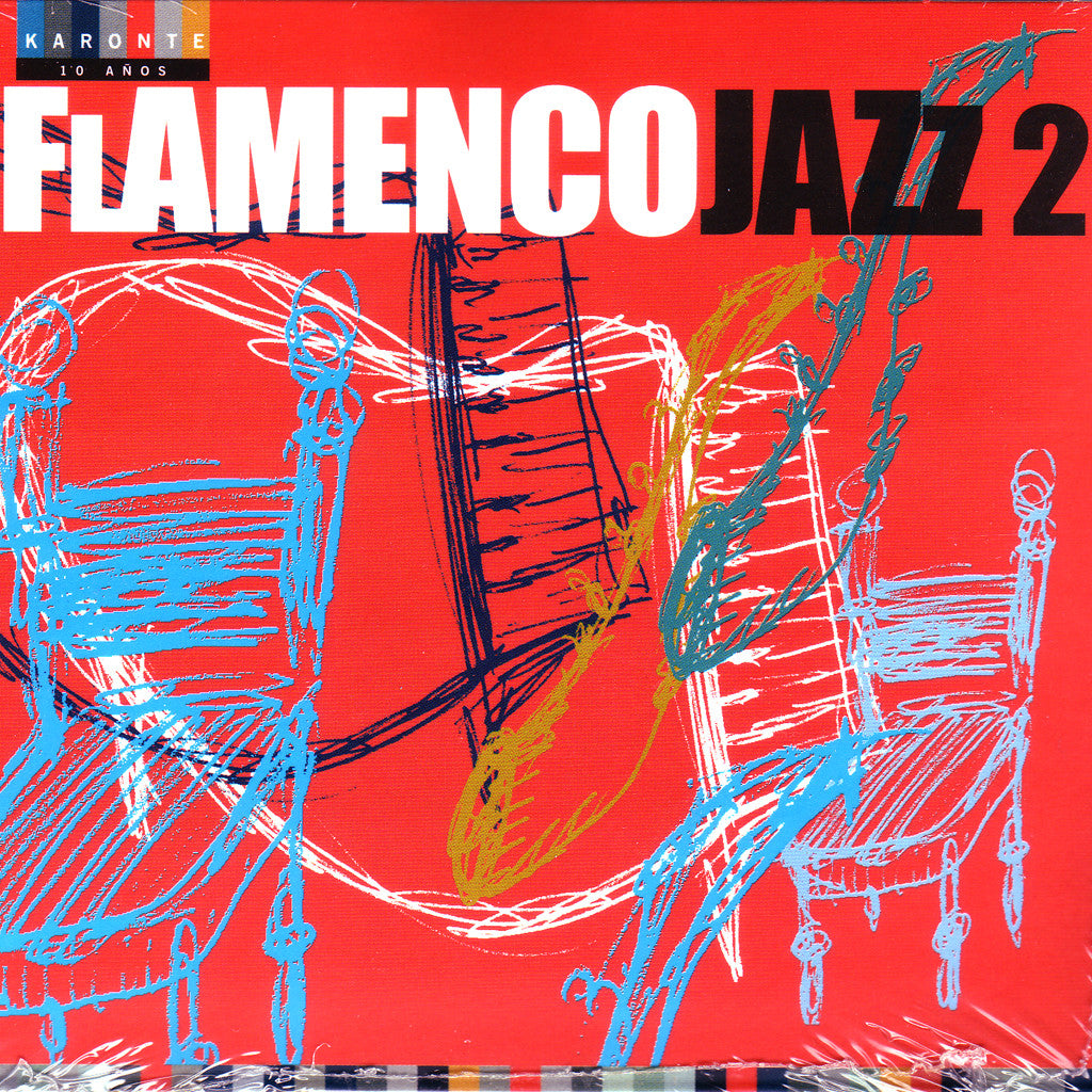 Image of Various Artists, Flamenco Jazz 2, CD