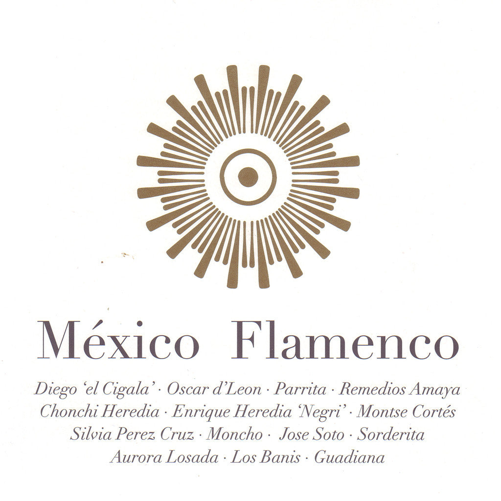 Image of Various Artists, Mexico Flamenco, CD+DVD