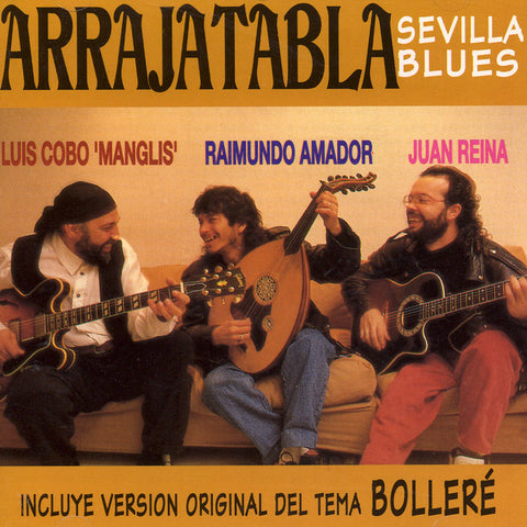 Image of Arrajatabla, Sevilla Blues, CD
