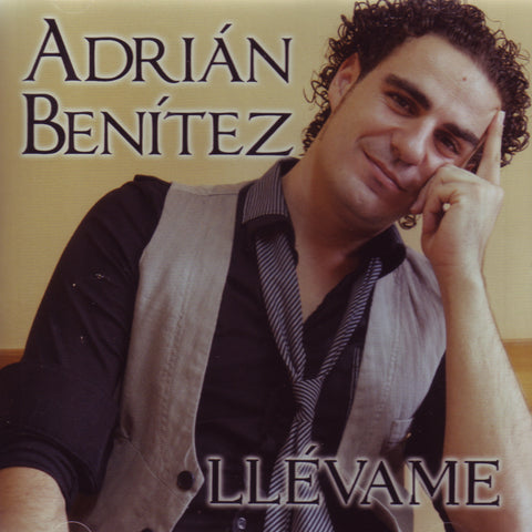 Image of Adrian Benitez, Llevame, CD