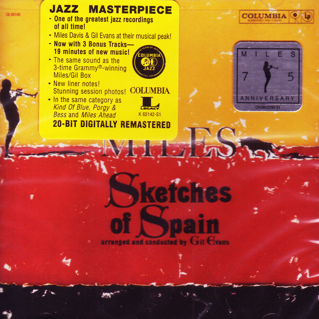 Image of Miles Davis, Sketches of Spain, CD