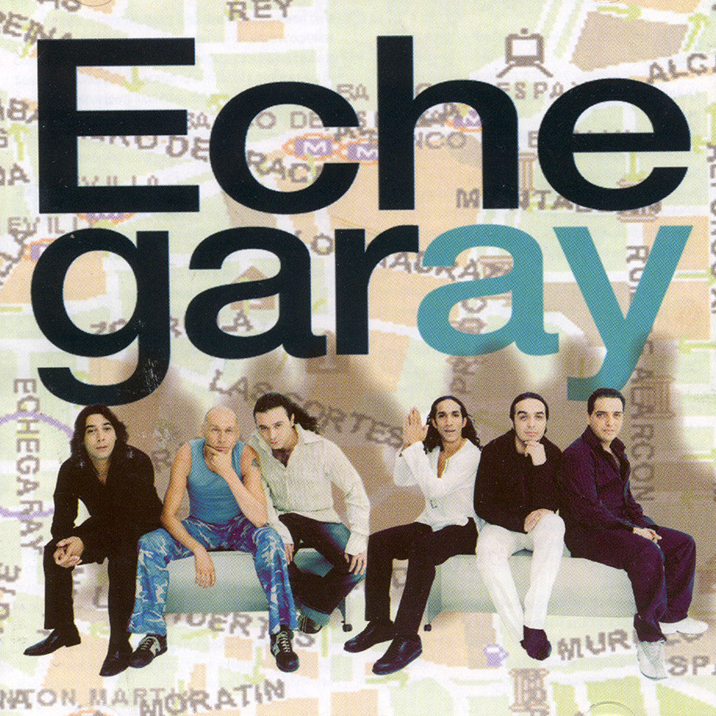 Image of Echegaray, Echegaray, CD