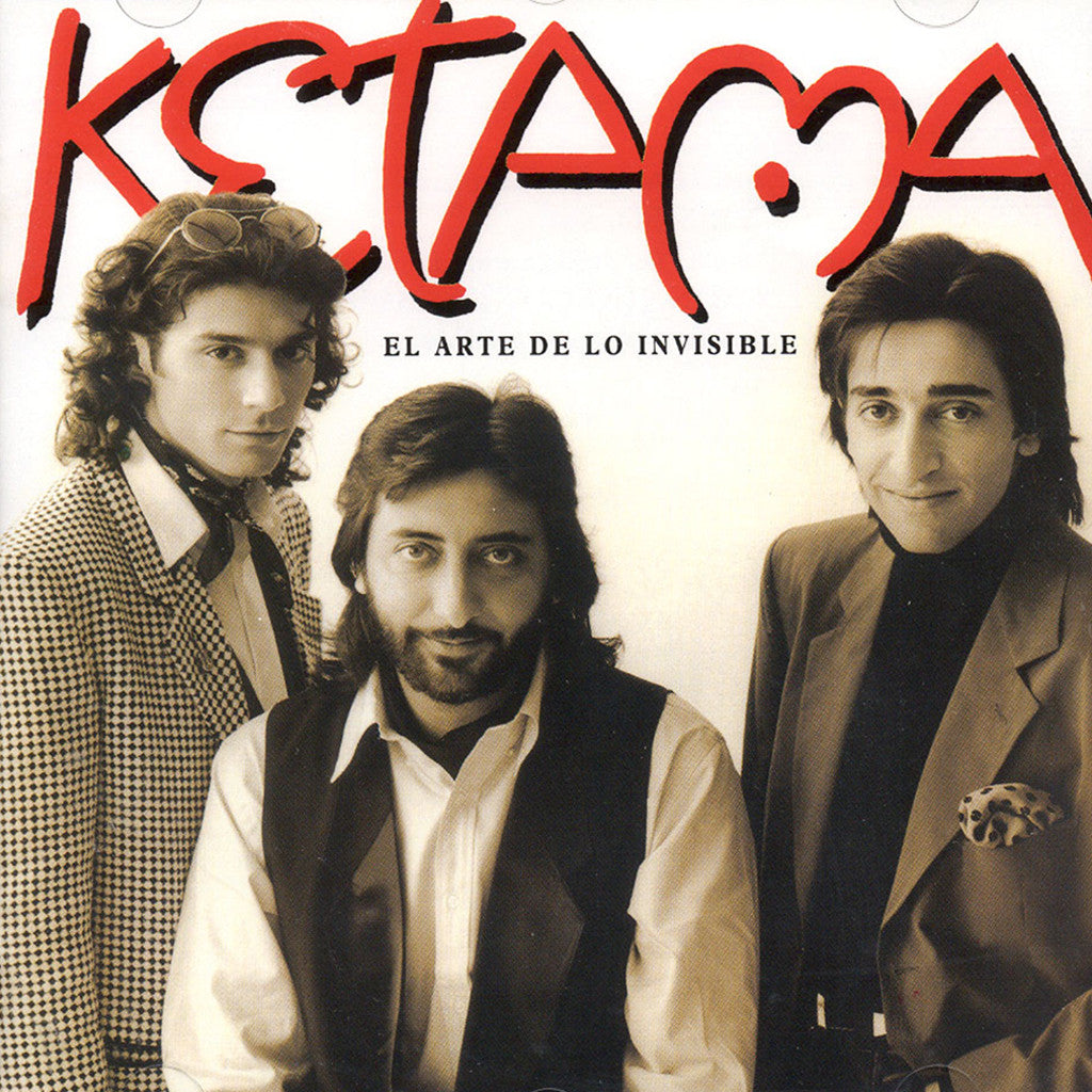 Image of Ketama, El Arte de lo Invisible, CD