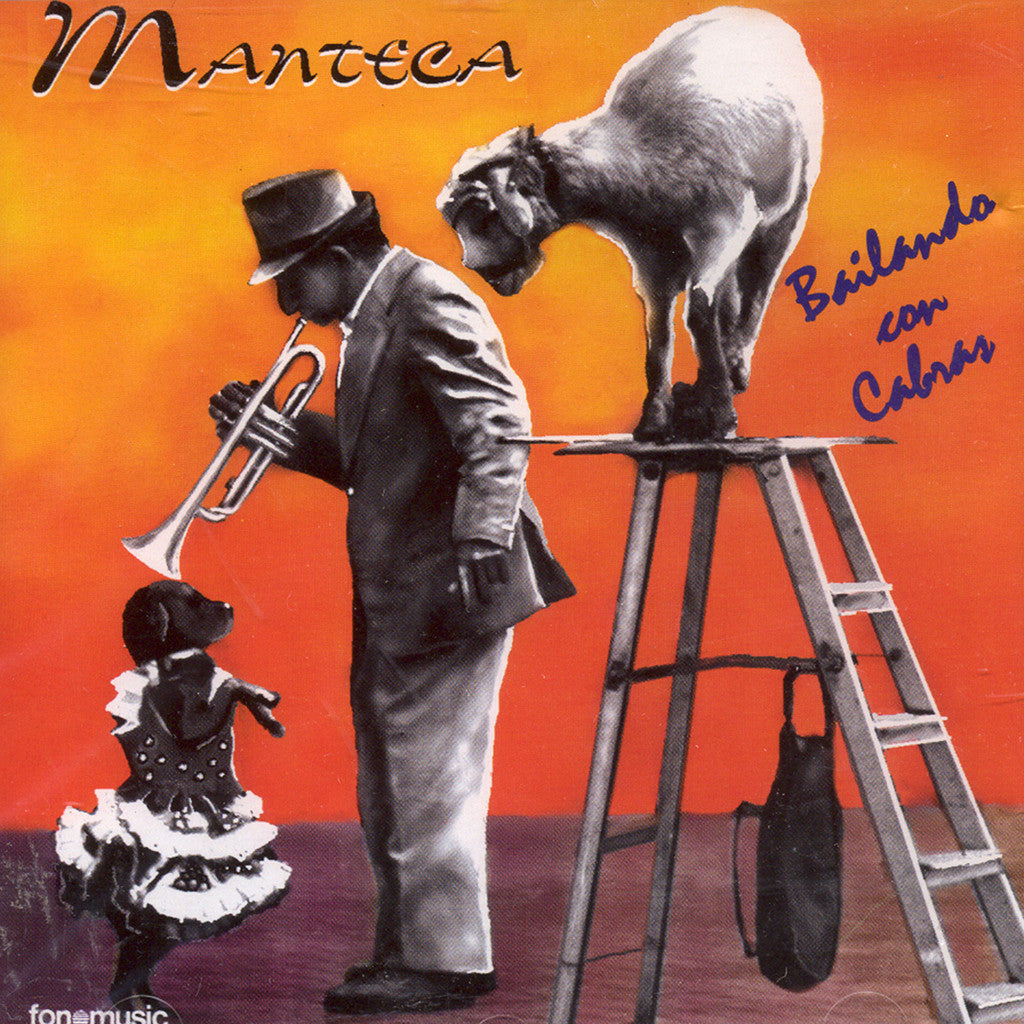 Image of Manteca, Bailando con Cabras, CD