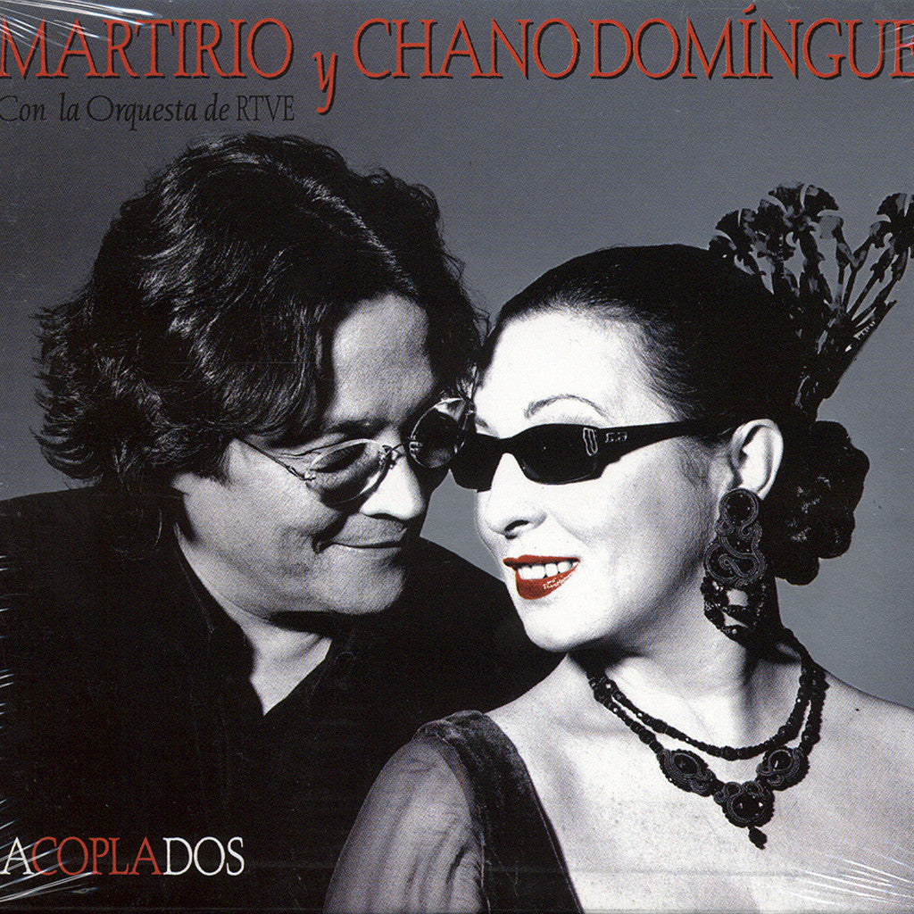 Image of Martirio & Chano Dominguez, Acoplados, CD