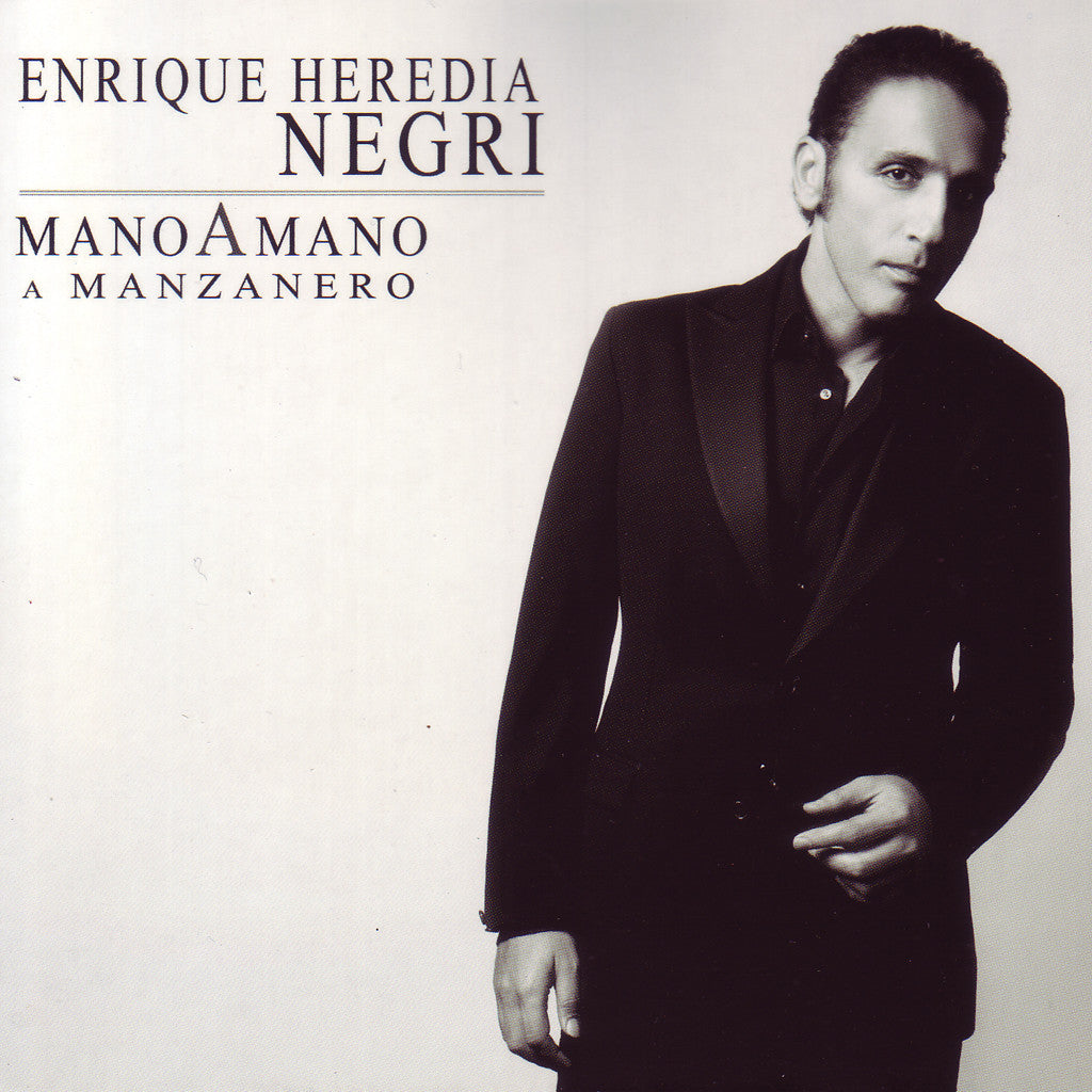 "Image of Enrique Heredia ""El Negri"", Mano a Mano: A Manzanero, CD"