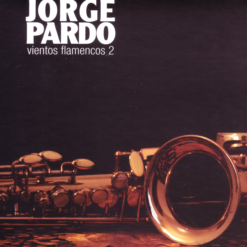 Image of Jorge Pardo, Vientos Flamencos 2, CD