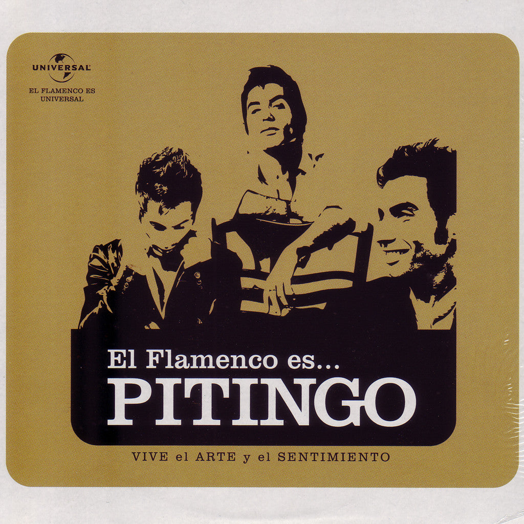 Image of Pitingo, El Flamenco Es..., CD