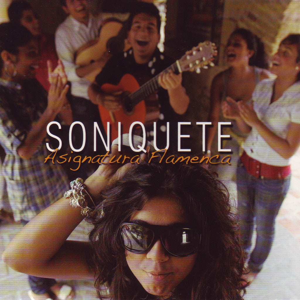 Image of Soniquete, Asignatura Flamenca, CD