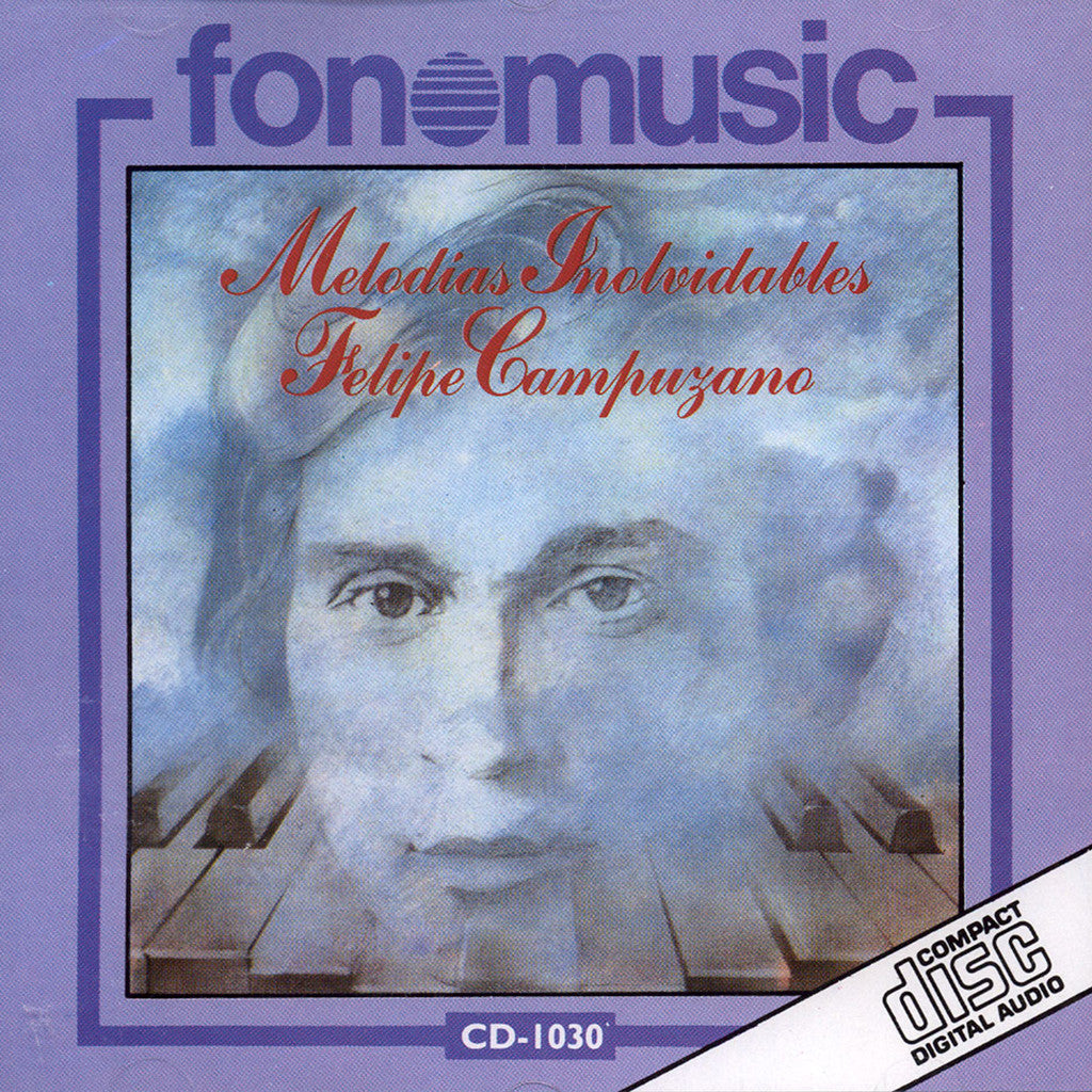 Image of Felipe Campuzano, Melodias Inolvidables, CD