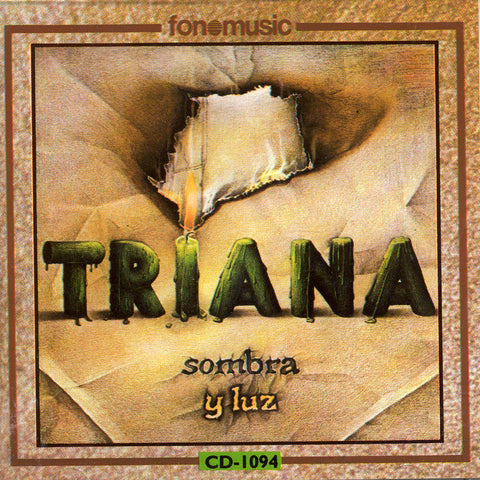 Image of Triana, Sombra y Luz, CD