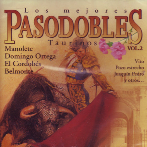Image of Various Artists, Los Mejores Pasodobles Taurinos vol.2, CD