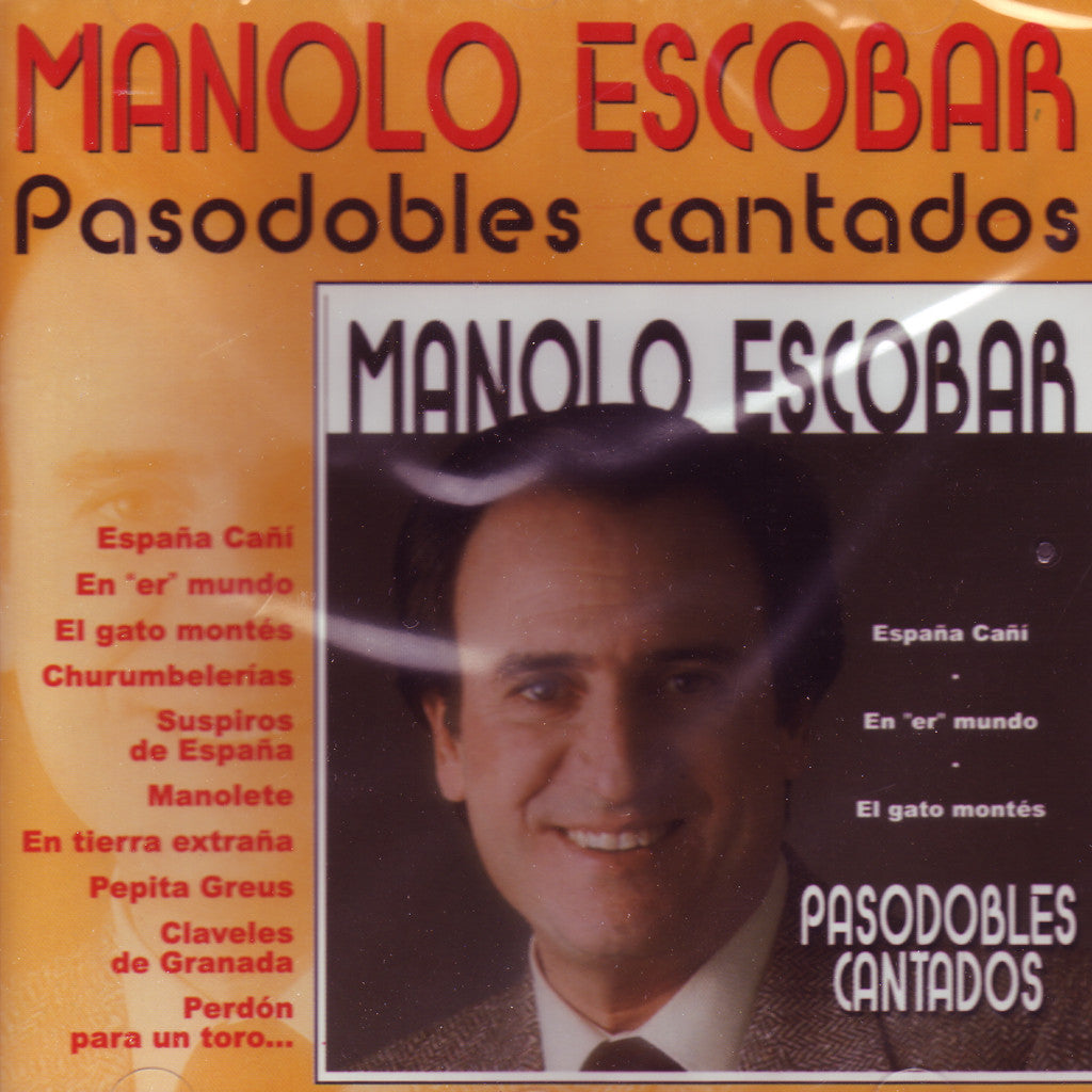 Image of Manolo Escobar, Pasodobles Cantados, CD