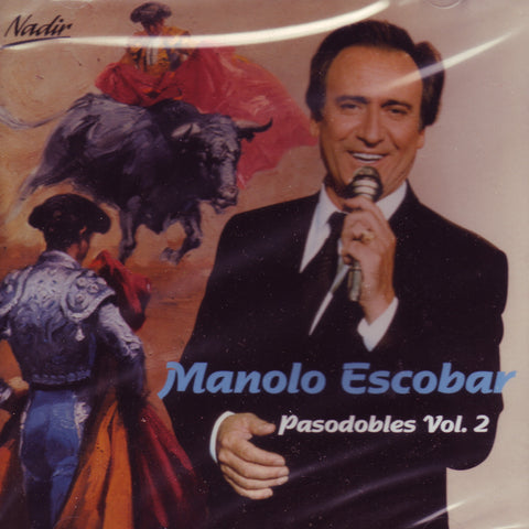 Image of Manolo Escobar, Pasodobles vol.2, CD
