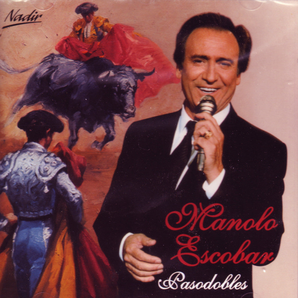 Image of Manolo Escobar, Pasodobles, CD