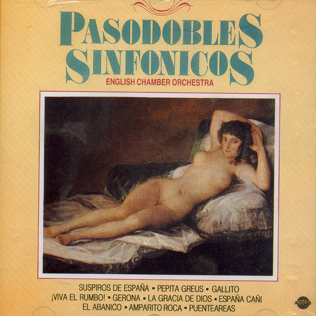 Image of English Chamber Orchestra, Pasodobles Sinfonicos, CD