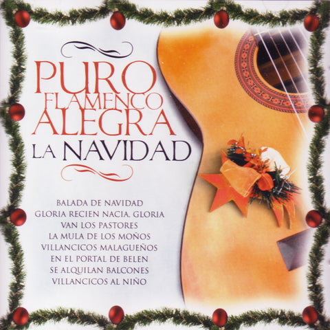 Image of Various Artists, Puro Flamenco Alegra la Navidad, CD