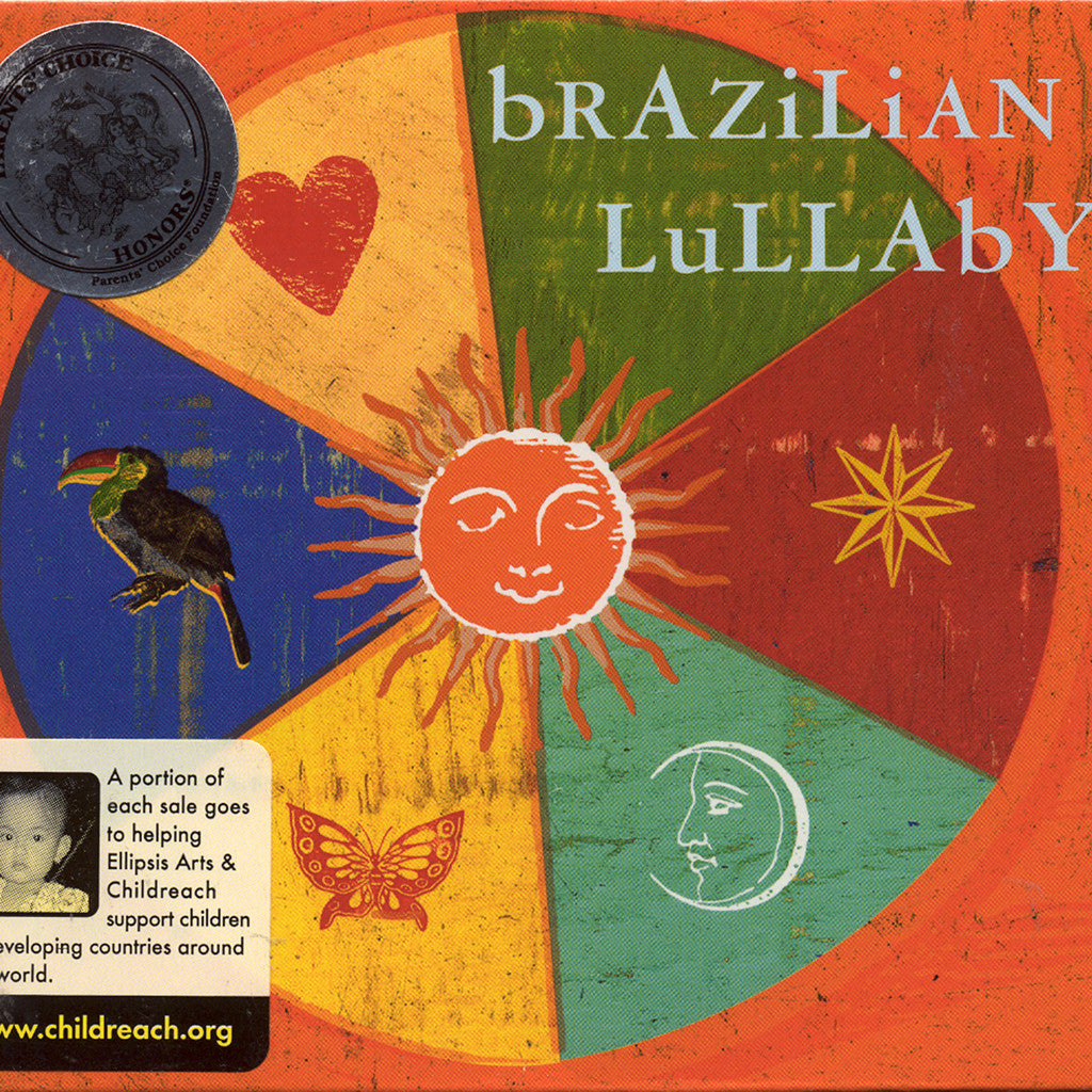 Image of Various Artists, Brazilian Lullaby, CD