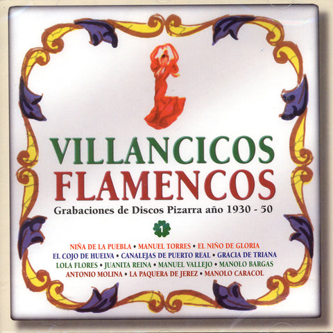 Image of Various Artists, Villancicos Flamencos I, CD