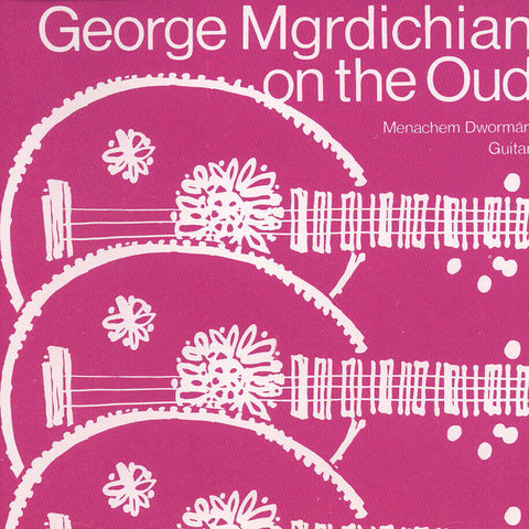 Image of George Mgrdichian, George Mgrdichian on the Oud, CD
