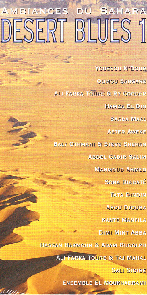 Image of Various Artists, Desert Blues 1, 2CD-Book