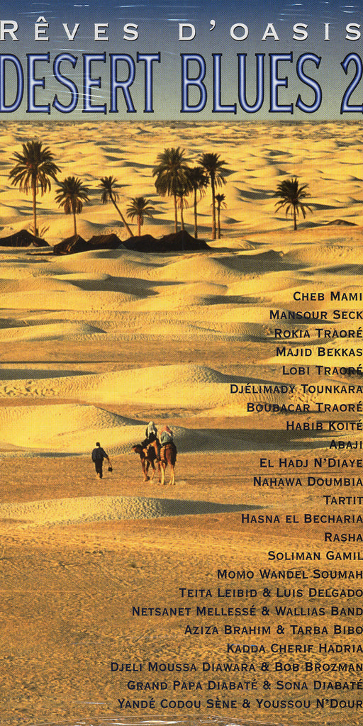 Image of Various Artists, Desert Blues 2, 2CD-Book