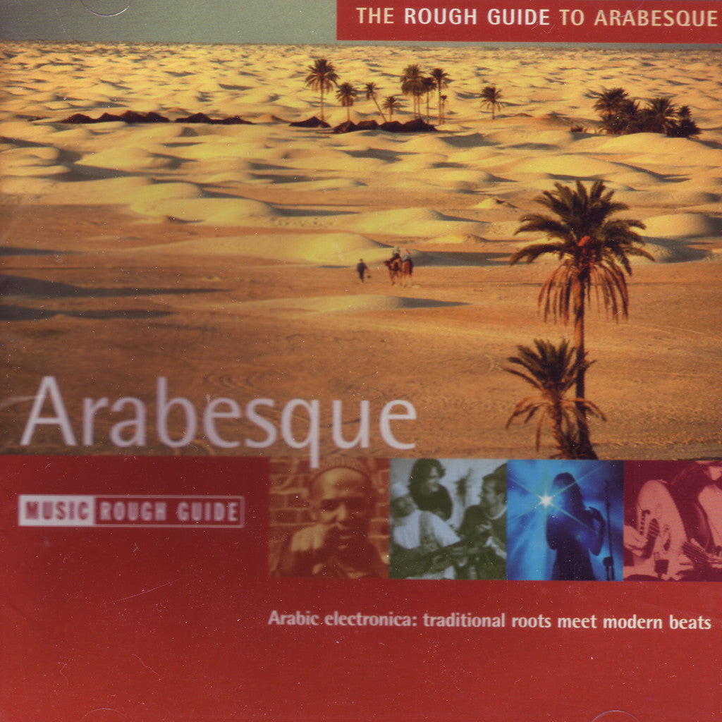 Image of Various Artists, The Rough Guide to Arabesque, CD