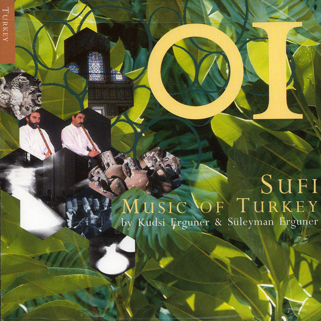 Image of Kudsi Erguner Ensemble, Sufi Music of Turkey, CD