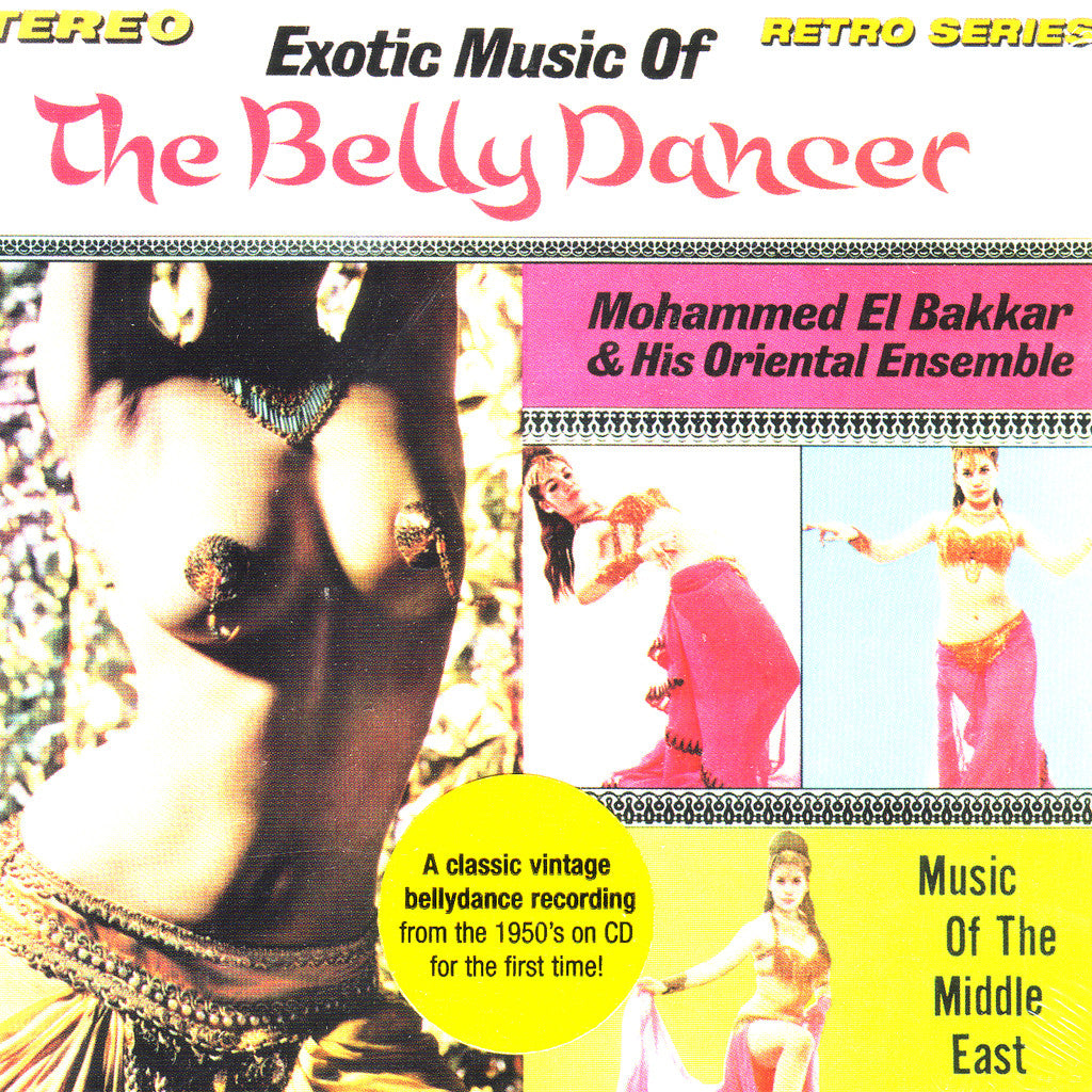 Image of Mohammed El Bakkar, Exotic Music of the Belly Dancer, CD