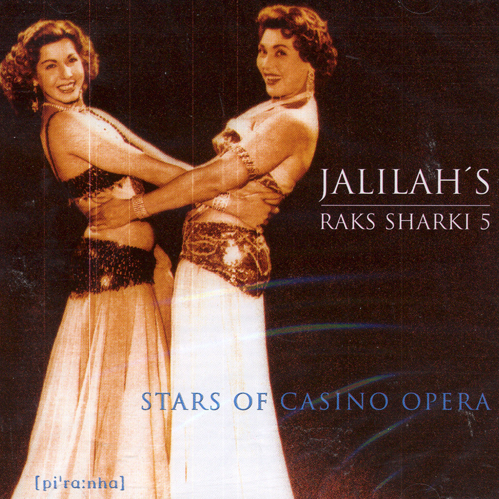 Image of Jalilah's Raks Sharki, Raks Sharki 5: Stars of Casino Opera, CD