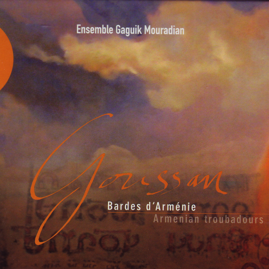 Image of Ensemble Gaguik Mouradian, Goussan - Armenian Troubadours, CD