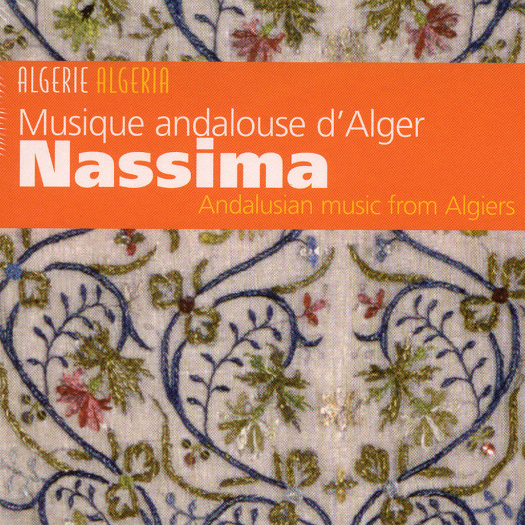 Image of Nassima, Musique Andalouse d'Alger, CD