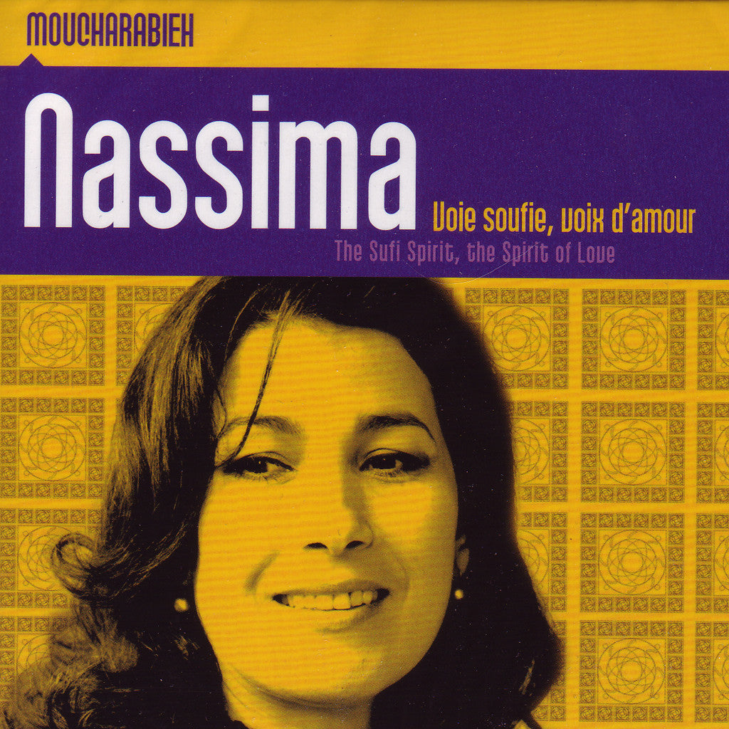 Image of Nassima, Voie Sufi Voix d'Amour (The Sufi Spirit - The Spirit of Love), CD