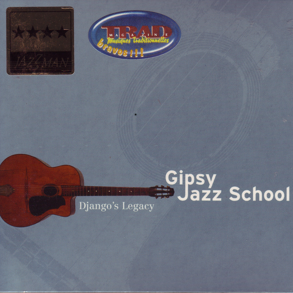 Image of Various Artists, Gipsy Jazz School: Django's Legacy, 2 CDs