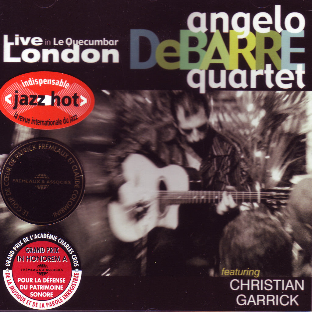 Image of Angelo Debarre Quartet, Live in Le Quecumbar, CD