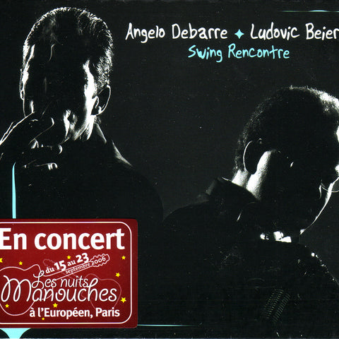 Image of Angelo Debarre & Ludovic Beier, Swing Rencontre, CD