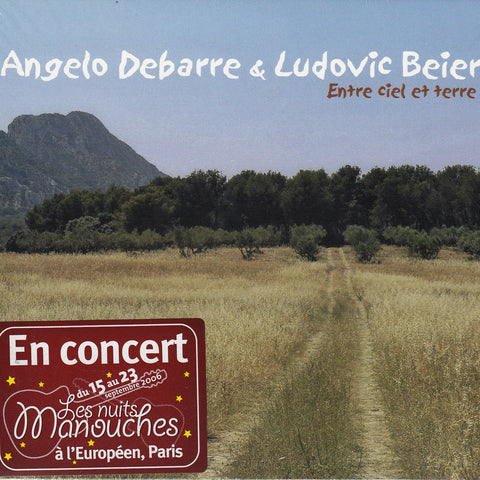 Image of Angelo Debarre & Ludovic Beier, Entre Ciel et Terre, CD