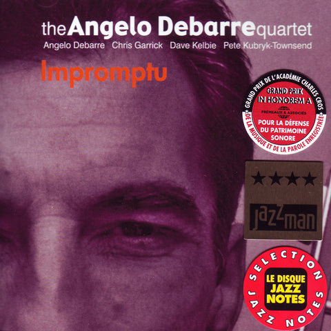 Image of Angelo Debarre Quartet, Impromptu, CD
