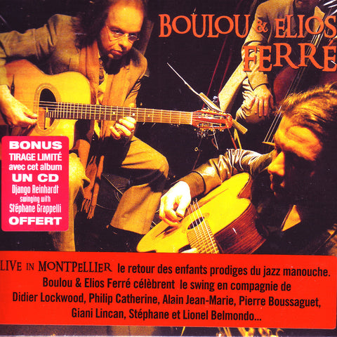 Image of Boulou & Elios Ferre, Live in Montpellier, CD