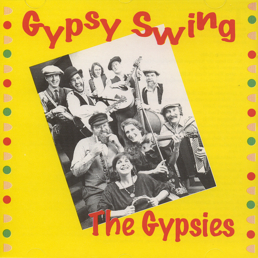 Image of The Gypsies, Gypsy Swing, CD
