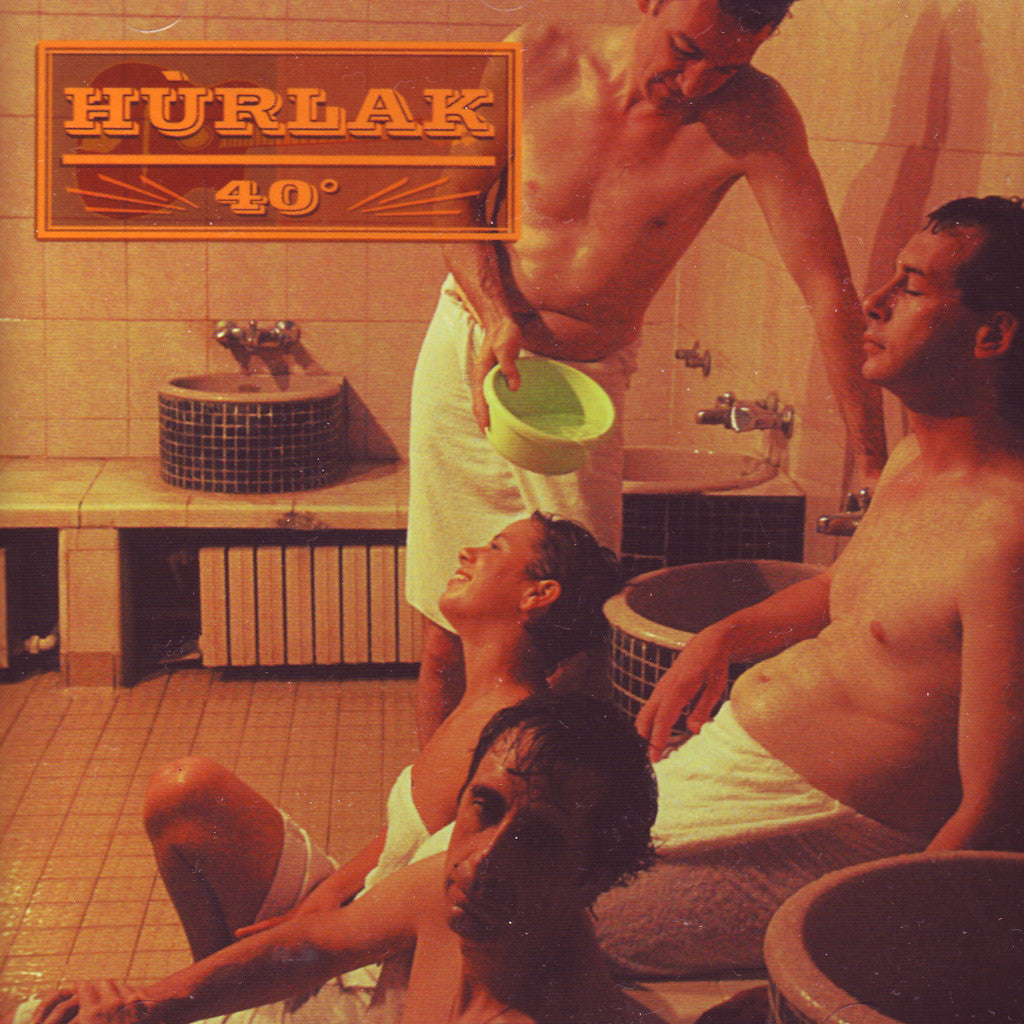 Image of Hurlak, 40 Degrees, CD