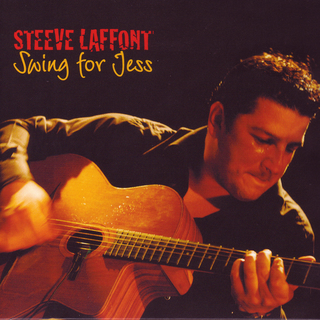 Image of Steeve Laffont, Swing for Jess, CD