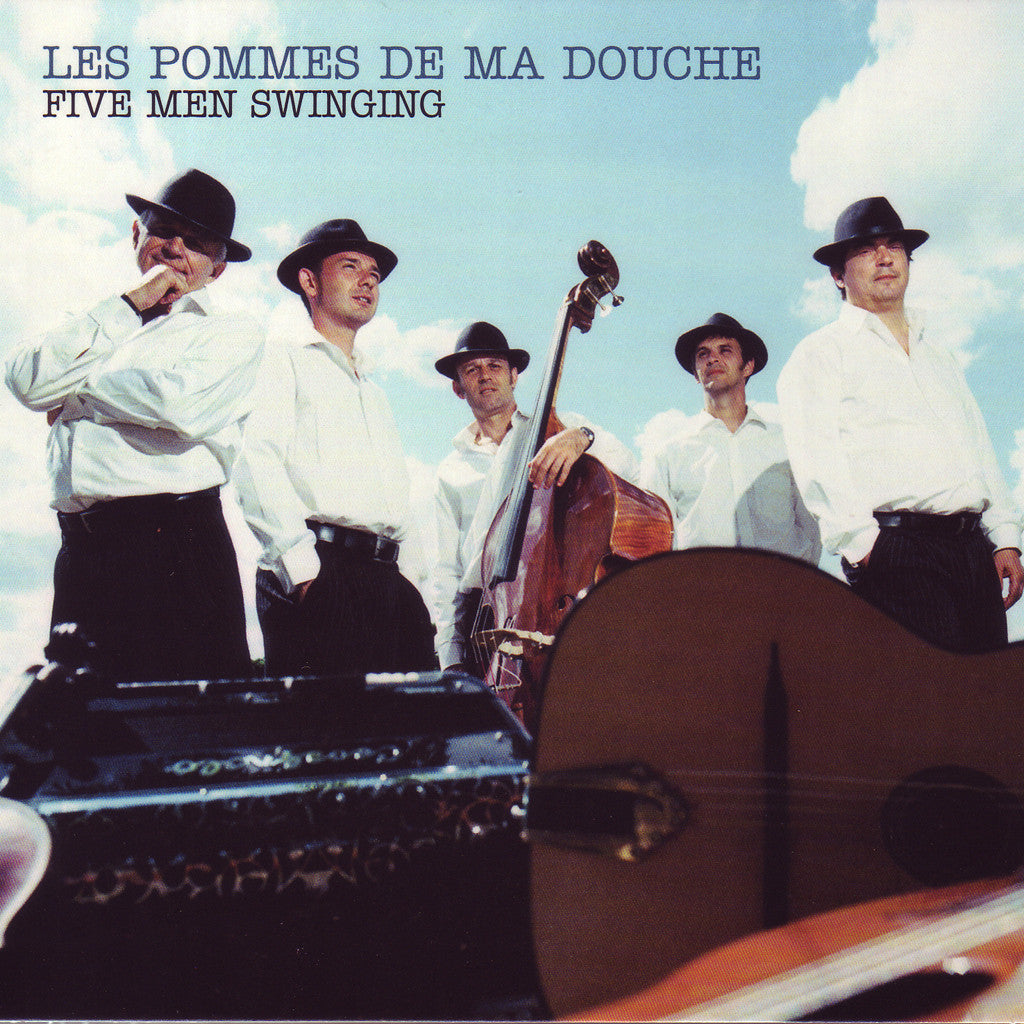 Image of Les Pommes de Ma Douche, Five Men Swinging, CD