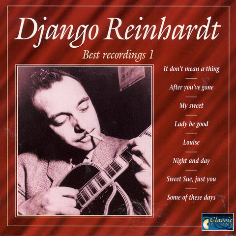 Image of Django Reinhardt, Best Recordings 1, CD