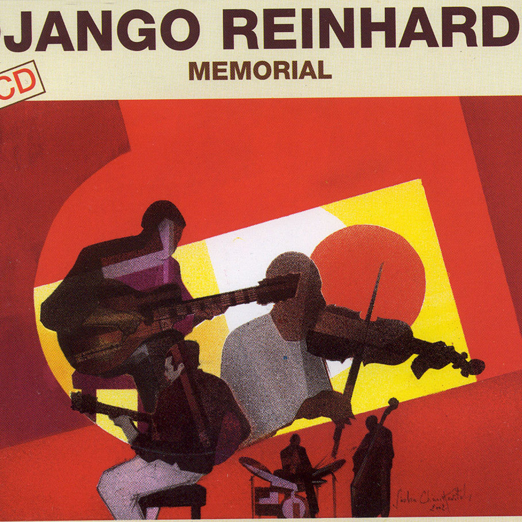 Image of Django Reinhardt, Memorial, 4 CDs