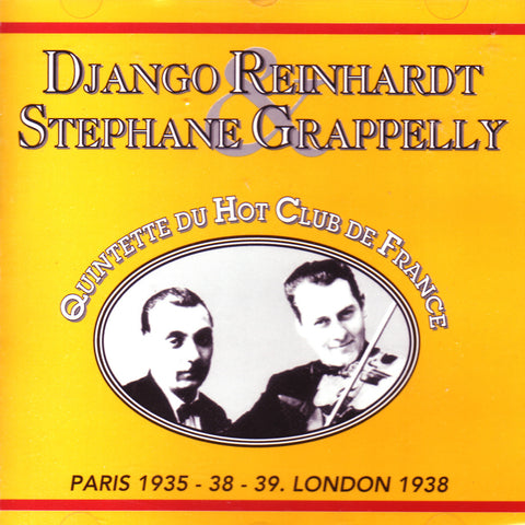 Image of Django Reinhardt, Le Quintette du Hot Club de France 1935-39 (w/ Stephane Grappelli), CD