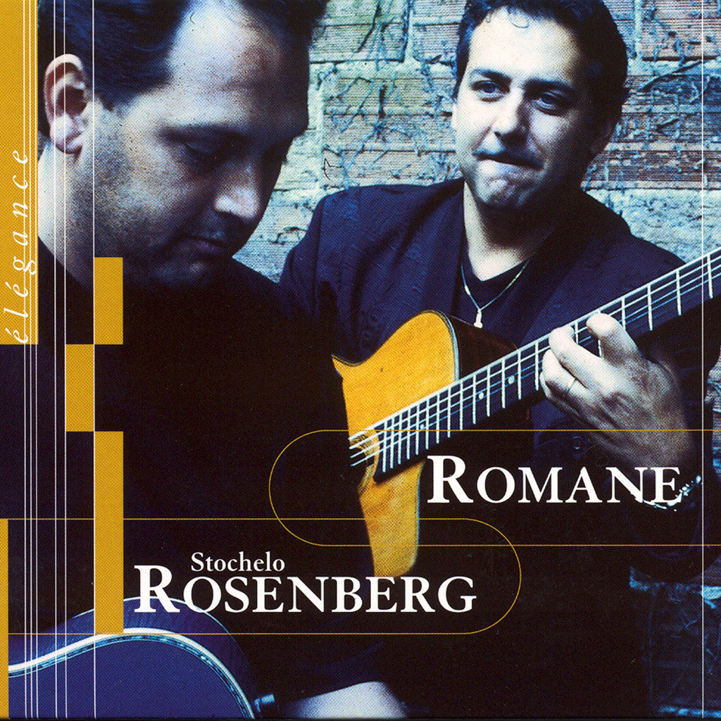 Image of Romane & Stochelo Rosenberg, Elegance, CD