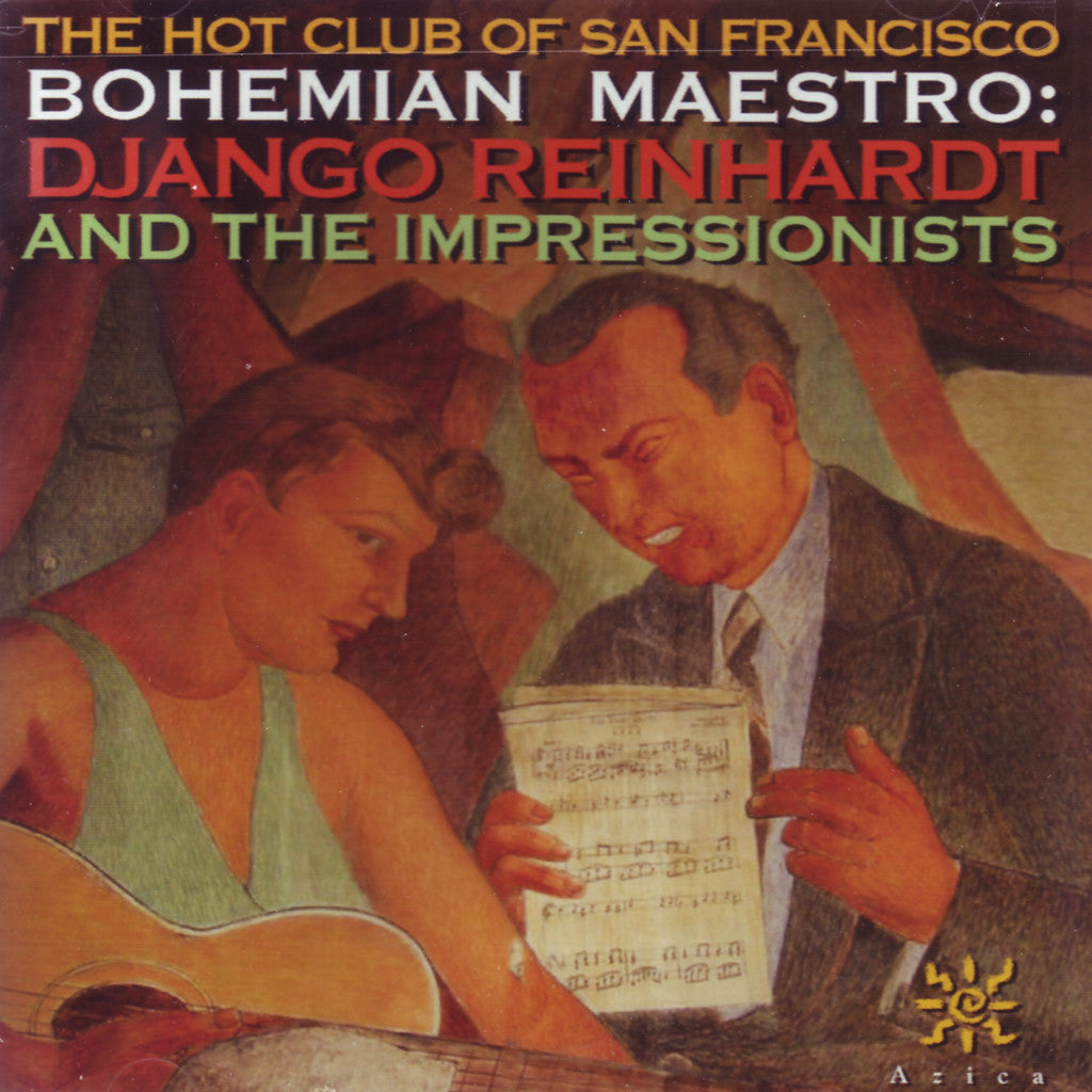 Image of The Hot Club of San Francisco, Django Reinhardt and the Impressionists, CD